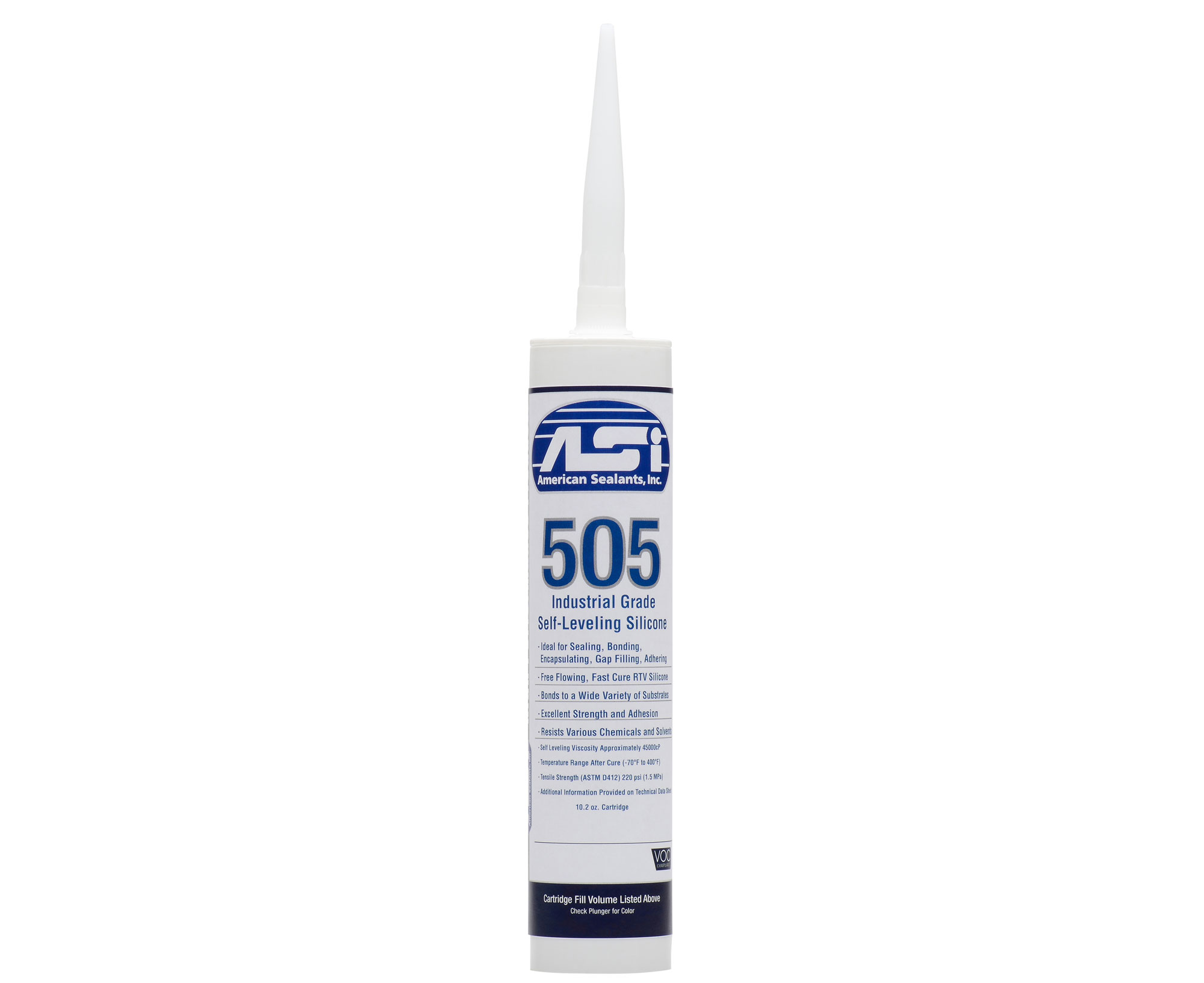 Asi 505 industrial self leveling silicone for Silicone paint sealant